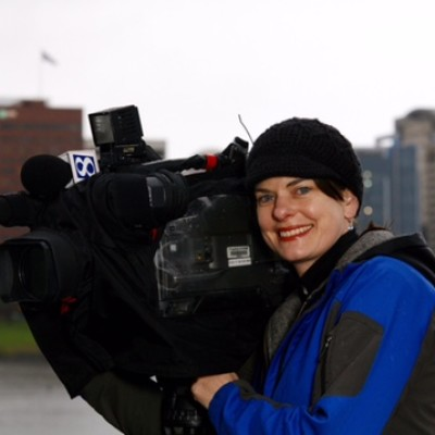 Kristen Henderson is a photojournalist for KGW Channel 8 in Portland, Oregon on November 17, 2009. Andrea J. Wright / The Wright Pictures